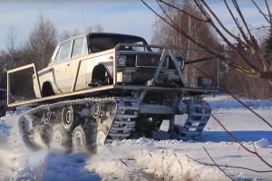 Megint egy Lada-tank és megint vadállat!