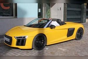 Kendőzetlenül az Audi R8 Spyder prototípusa