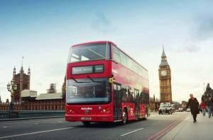Már a londoni buszok is Kínából érkeznek