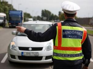 Egyhetes rendőri razzia indul az utakon