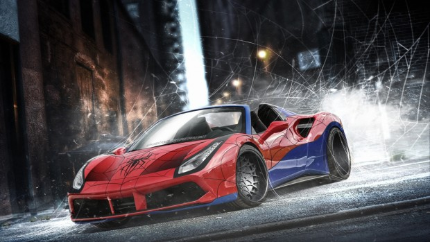 spiderman-ferrari-488-spider