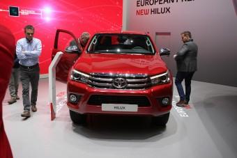 Itt a legújabb Toyota pick-up