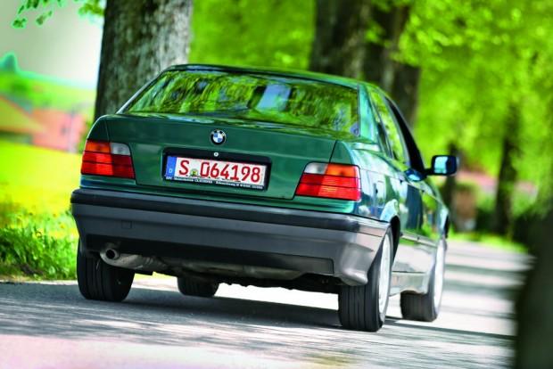 Szerény hátsó: Claus Luthe tervezte a BMW E36-ot