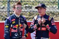 F1: Pilótát cserélt a Red Bull