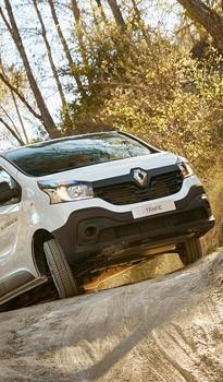 Renault haszonjárművek nehéz terepre