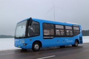 Pécsett is elektromos buszok állnak forgalomba