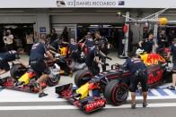 F1: Ricciardo tempója tükörtörést okozott