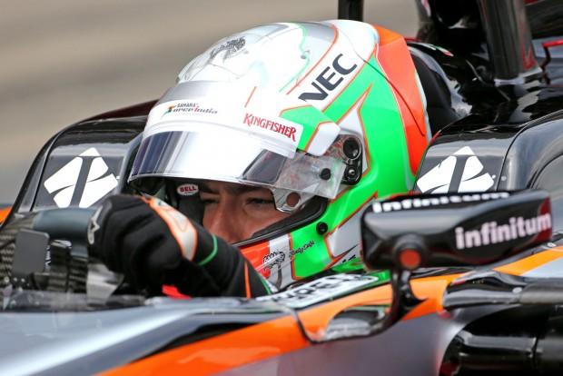 F1: Perez beszólt a saját tesztpilótájuknak