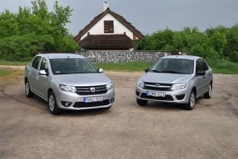 Teszt: Lada vagy Dacia? Melyik ér többet?