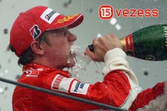 Részegen vezettünk, Räikkönen győzött