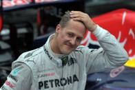 Schumacher nem tud járni, pert nyernek miatta