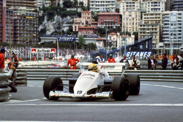 Graham Hill után ő lett Mr. Monaco (Monte-Carlo, 1984)