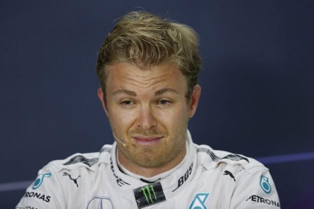 F1: Rosberg kiakadt Hamilton miatt