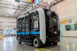 Elkészült a világ első 3D-vel nyomtatott busza