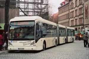 Duplacsuklós autóbuszt tesztel a BKV