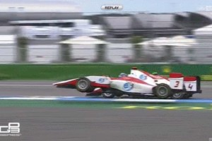 Így lehet ugratni egy F1-es pályán