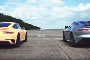 Lenyomja az ördögi hangú Jaguar az örökös király Porsche 911 Turbót?