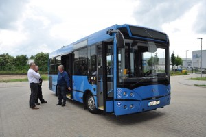 Szemet vetettek a németek a magyar midibuszra