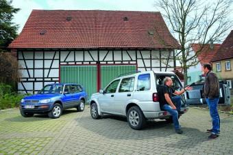 Toyota RAV4 vagy Land Rover Freelander?