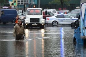 Fotókon, ahogy Moszkvát ellepte a víz
