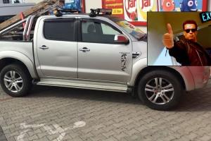 Csodásan parkolt egy Toyota Győrben