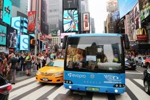 Ibériai tesztkörúton a magyar elektromos busz