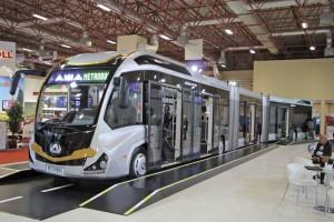 25 méteres autóbuszt építettek a törökök