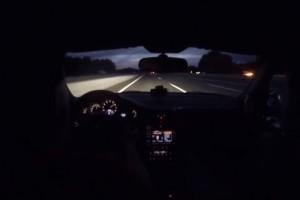 Ilyen egy defekt Porschével 330 km/óra felett