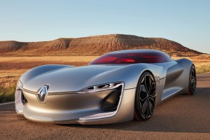 Nehéz bejutni: Renault Trezor tanulmány