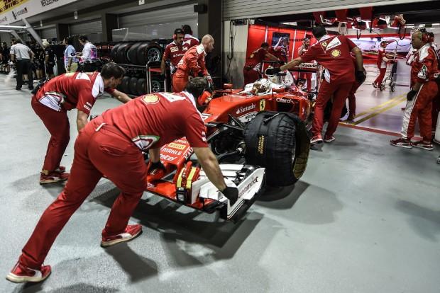 F1: Kibelezték Vettel Ferrariját