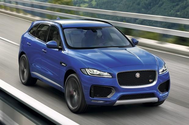 SUV/Crossover díj: Jaguar F-Pace
