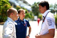 F1: A Mercedesnél nevesítették Bottast
