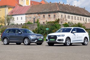 Melyik a jobb zöld rendszámos luxus-SUV?