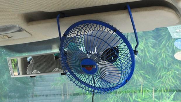 -New-12V-Powered-USB-Mini-Automobile-Metal-Car-Fan-Vehicle-Cooling-Air-Fan-OB-0815