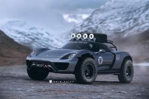 A terep-Porsche 918 jobban kéne, mint egy Macan