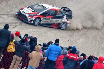 Bravúrosan tért vissza a Toyota a WRC-be