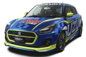Máris versenyautót faragtak az új Suzuki Swiftből