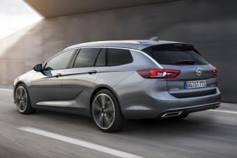 Gyönyörű az új puttonyos Opel Insignia