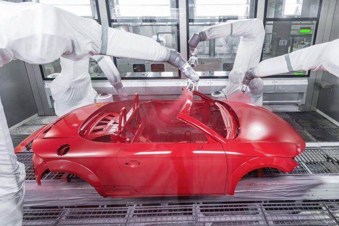 Audi Hungaria: Start of production of new Audi TT Roadster