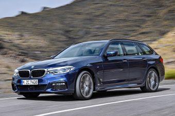 Mozgásban a BMW 5 Touring