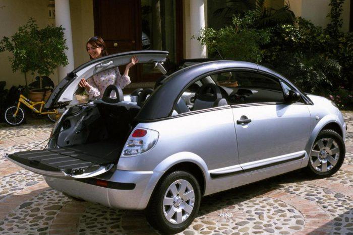 4, Igazi kudarcsztori a Citroën C3 Pluriel levehető, majd sehová sem rakható oldalsó tetőkeret-párja
