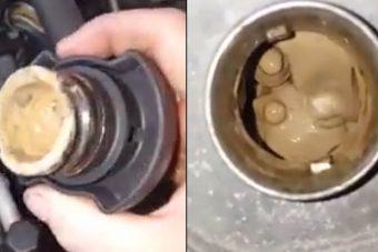 Elborzadt a szerelő, amikor ezt a fagylaltgyártóvá változott motort meglátta