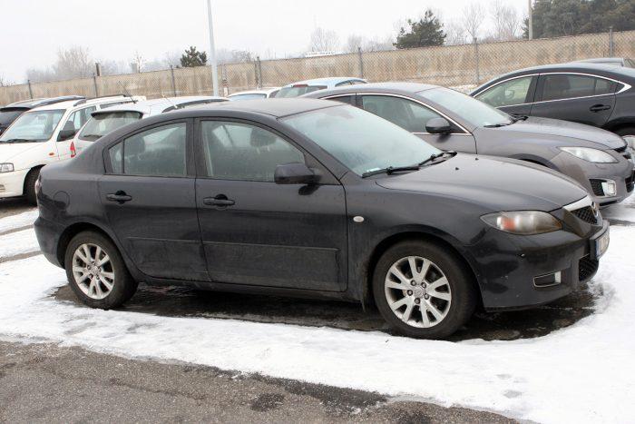 120 000 forintból megvan a benzines Mazda3 1,6 kuplungozása