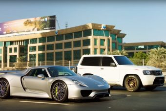 Meglepő és egyben pokoli verseny Dubaj utcáin