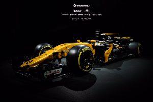 Fekete-sárga a Renault új Forma-1-ese