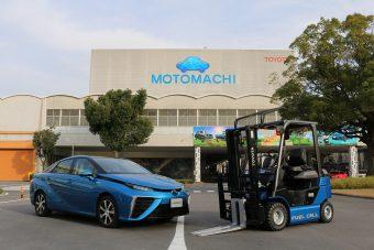 Üzemanyagcellás targoncák melóznak a Toyotánál