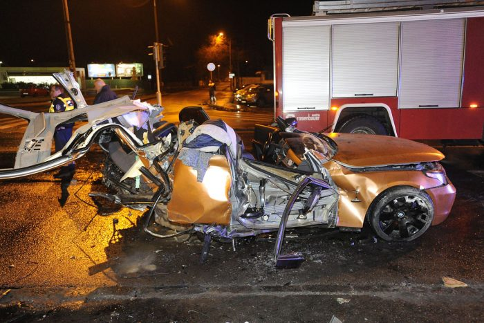 Halálos baleset a Szentendrei úton