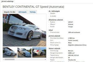 Magyarország legdrágább használt autói