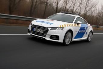 Ezek a legmenőbb magyar rendőrautók