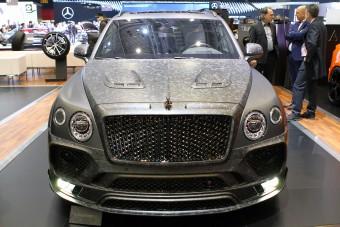 Csuklásig tuningolt Bentley Bentayga a Mansorynál